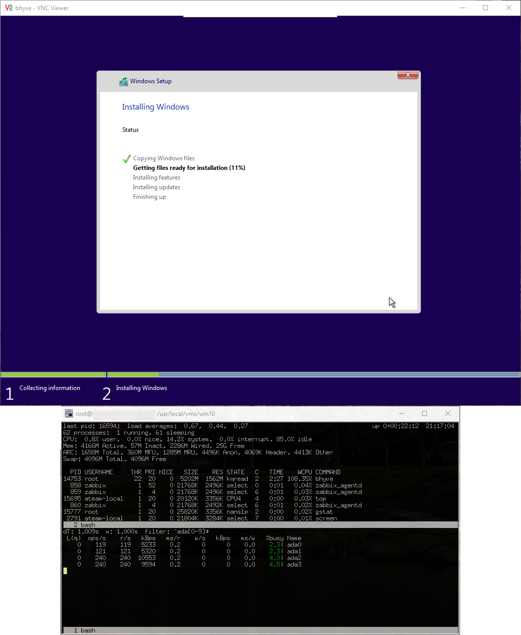 HOWTO: Windows 10 Under Bhyve /w FreeBSD 11 - A-Team Systems